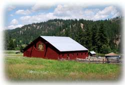 Breathtaking waterfront acreage along the middle fork of the Payette River